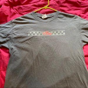 Vans grey t shirt size medium